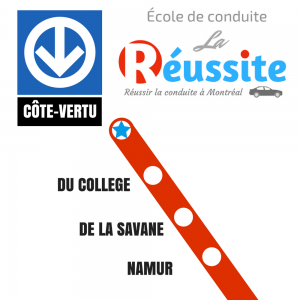 Ecole de Conduite La Reussite a Montreal - Metro Cote Vertu
