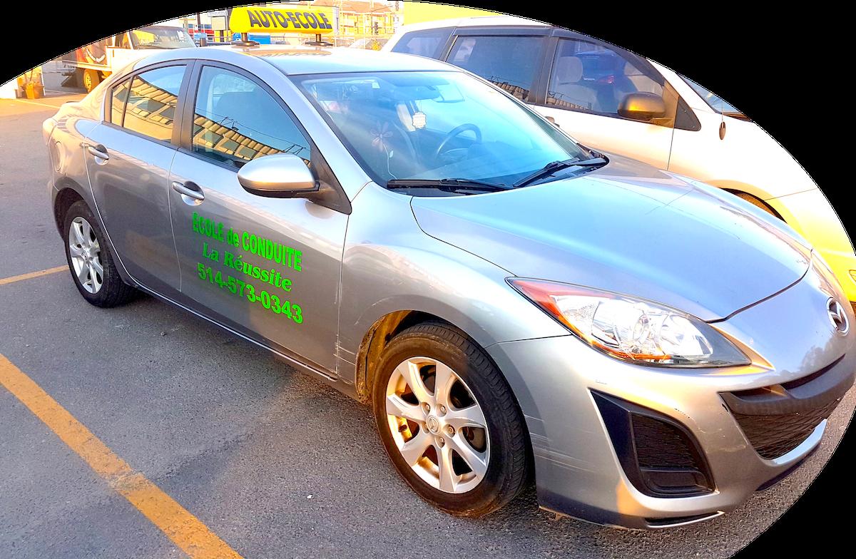 Ecole de conduite La Reussite a Montreal, Saint-Laurent. Cours de Conduite pas cher 514-573-0343