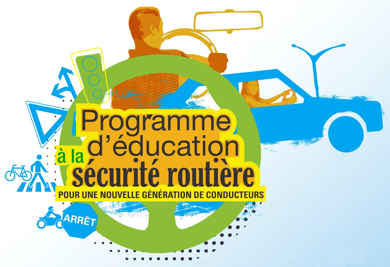 Programme d'education a la securite routiere cours de conduire / conduite obligatoire pour jeunes et nouveau conducteurs ecole de conduite la reussite